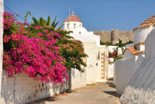 patmos-island-golden-sun-church
